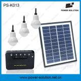 Système de d'éclairage solaire portatif de l'économie d'énergie 3bulbs pour l'éclairage à la maison
