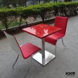 Tableau dinant de restaurant moderne extérieur solide acrylique de meubles