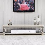 Edelstahl Fernsehapparat-Standplatz der Qualitäts-2016 für Wohnzimmer-Gebrauch (TV015)
