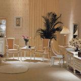 素晴らしく純粋で白い様式のホテルの家具の寝室セット(EMT-A0658)