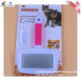 Steel di acciaio inossidabile Pet Dog Comb in breve Hair Dog