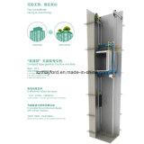 Elevador de carga de Roomless de la máquina con el control de Vvvf