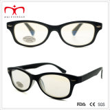 반대로 Reflective Lens (WRP410302AR)를 가진 숙녀 Plastic Computer Reading Glasses