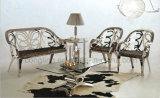 Cadeira nova do lazer do aço inoxidável de Seater do projeto dois