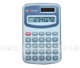 8 Digits Dual Power Pocket Calculator with Opaque & Transparent Colors (LC321)