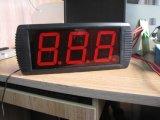 """4 """"3 cifre secondi Timer, Supporto conto alla rovescia / piano, colore rosso LED"""