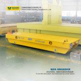 Schwere Eingabe-Transport-Materialtransport-Blockwagen traf in der Stahlfabrik zu