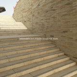 China Bush Hammered Sunset Gold, G682, passo de granito de moleiro amarelo para pedestres