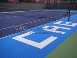 Oppervlakte van de Tennisbaan van de Bevloering van de Tennisbaan van pp de Materiële Professionele Openlucht/de Tegel van de Sport