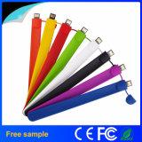 Flash Drive de silicona pulsera pulsera de Pendrive USB