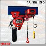 Niedrig-Durchfahrtshöhe 3t elektrisches Doppelkettenhebevorrichtung-Hebezeug