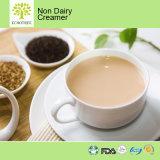 Gesunde Kaffee-Rahmtopf-Sorgfalt mit Milch-Puder für Brakefast