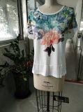 Mode dernière tenue en relief pour femmes T-shirt de loisirs Vêtements
