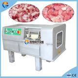 Le cube cuit congelé électrique automatique Dicer en nourriture de viande fraîche avec du ce a délivré un certificat