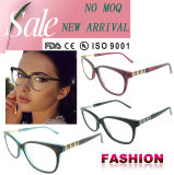 Выполненный на заказ Eyeglass обрамляет самый последний новый продукт изготовления оптически рамок женщины стекла