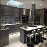 Hoher Glanz-moderner Küche-Schrank
