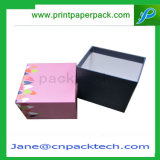 Top costumbre y la caja inferior rígida caja de cartón caja de papel