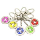 昇進の多彩な金属のTシャツの形Keychain