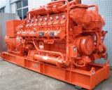 1200kw 세륨 증명서 큰 동력 가스 발전기 세트에 10kw