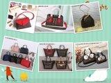 Hersteller-Frauen-Form sackt LV-Denim-Paket/Rucksack/Handtasche ein
