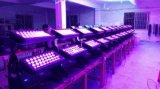 5in1 Lichte /LED van de Veelkleurige LEIDENE 72/120*15W RGBWA Wasmachine van de Muur Vloed Lichte Waterdichte IP 65