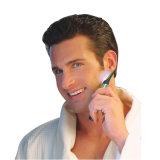 Le rasoir multifonctionnel DEL des hommes à piles maximum d'éclairage du contact micro avec le chevêtre