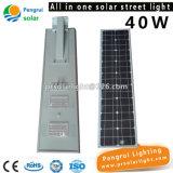 Réverbère solaire actionné solaire du mur extérieur DEL de détecteur économiseur d'énergie de DEL