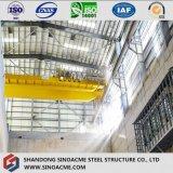天井クレーンが付いている産業工場のためのPebの鉄骨フレーム