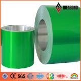 Bobina de alumínio do preço de custo do revestimento do PE de Ideabond para o material composto de alumínio decorativo (AE-35F)