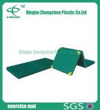 Alta qualità relativa alla ginnastica della stuoia della pavimentazione di esercitazione di ginnastica di gomma che piega stuoia relativa alla ginnastica