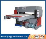 CNC de alimentação automático imprensa da estaca do couro do plano hidráulico