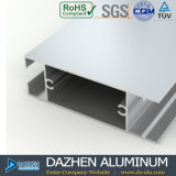 Profil en aluminium de l'Afrique pour la porte coulissante de guichet de tissu pour rideaux