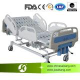 Sk016 병원 수동 크랭크 ICU 병동 참을성 있는 침대 가구 장비