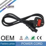 Cable de cobre al por mayor de sipu Reino Unido Plug Power cable de alimentación del ordenador