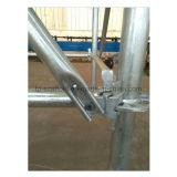Ringlock Baugerüst-diagonale Klammer mit HDG-Oberflächen-Ende