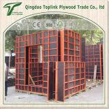 La película roja de la construcción del mejor precio hizo frente a la madera contrachapada usada para Shuttering