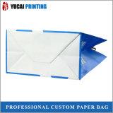 120g de witte Zak van het Document van Kraftpapier met Embleem voor Verkoop