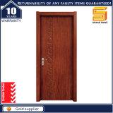 Modèles en bois modernes intérieurs composés de porte de placage portes en bois creuses/solides de faisceau