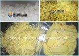 Automatische FC-503 Kartoffelchip-Ausschnittmaschine, Wurzelgemüse, Ingwer, Wasserbrotwurzel-Abisoliermaschine, Schneidmaschine