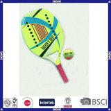 raquete de tênis Bem-Protegida carbono da praia 3k