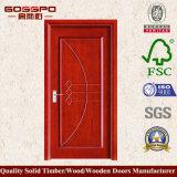 Porta de painel moldada interna do MDF (GSP8-014)