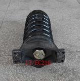 Conjunto da mola do ajustador da trilha do ajustador da trilha da máquina escavadora para Volvo Ec210