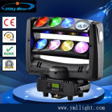 Stage Light Novo Phantom 9PCS 12W RGBW 4in1 Sweeper Beam Quad LED Moving Head Effect Lighting