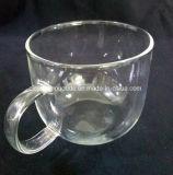 Taza de café de cristal del vidrio de Borosilicate de los nuevos productos pequeña