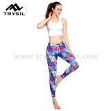 De hete Gymnastiek Legging van het Meisje van het Geslacht van de Broek van de Yoga van de Meisjes van de Broek