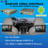 Système de navigation androïde automatique pour Mazda2, 3, 6, Cx-3, Cx-5, Cx-9, Mx-5