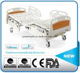고품질 설명서 2 불안정한 PP 난간 의학 침대