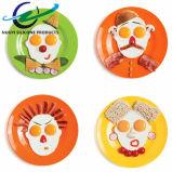La pista de la cara de la categoría alimenticia formó el molde frito silicón del huevo