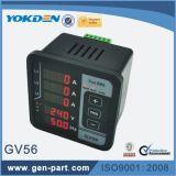Gv56 3 단계 디지털 전압계 주파수 미터
