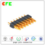 7pin 전자 제품을%s 용수철이 있는 연결관 Pogo Pin